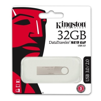 USB 3.0 Kingston DataTraveler SE9 G2 32GB (Bạc)