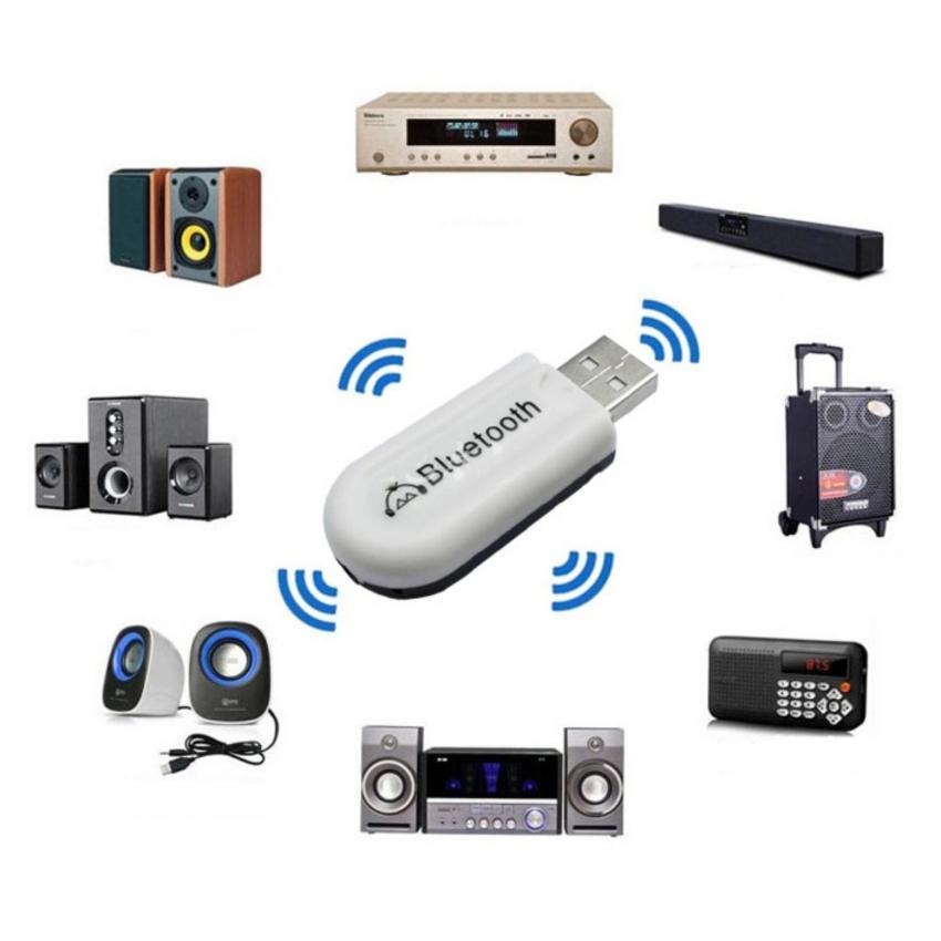 USB Bluetooth Music Dongle Biến loa thường thành loa bluetooth (Hàng nhập khẩu)
