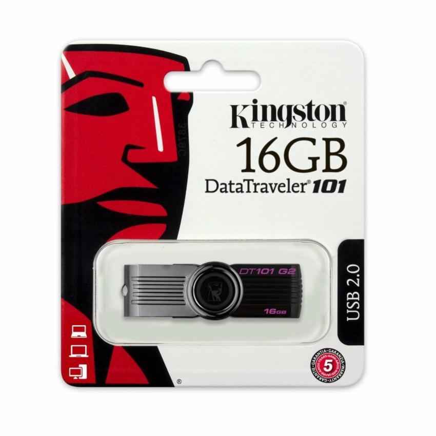 Hình ảnh USB Flash Drive 16GB Kingston DT101G2 (Đen)