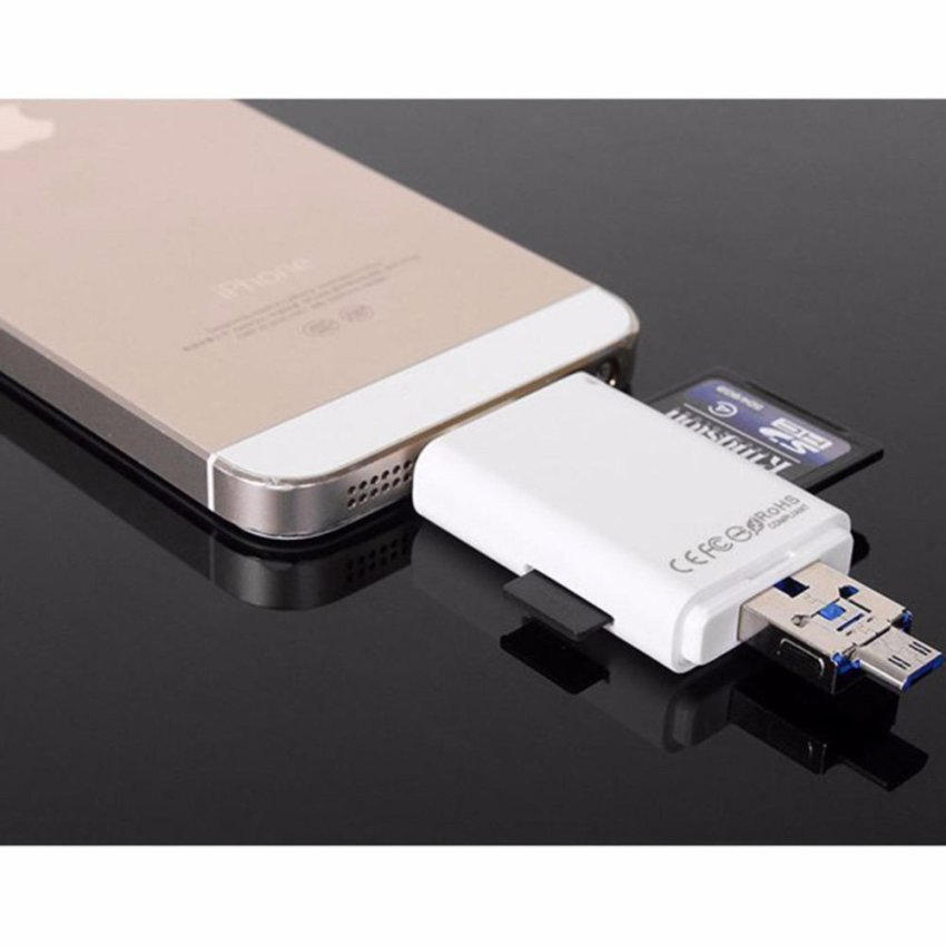iphone 6 sd card usb lightning reader usb otg i flash drive external 6794