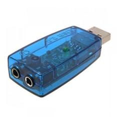 Nơi Bán USB ra sound 2.1 âm thanh 3D Sound (Xanh)