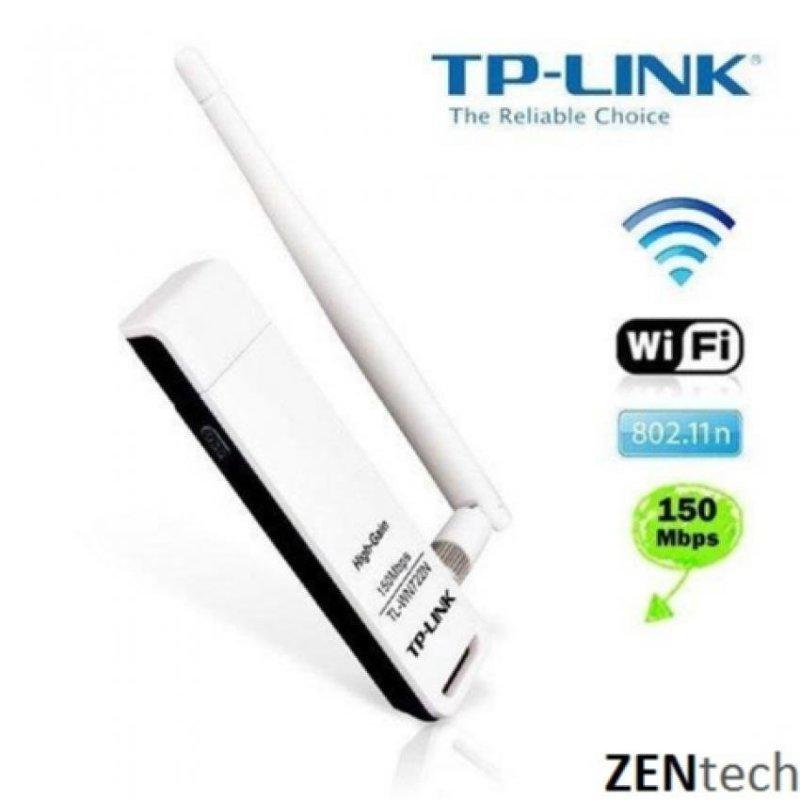 Nơi bán USB thu sóng wifi có An Ten TP-Link WN722N 150Mbps (Trắng)