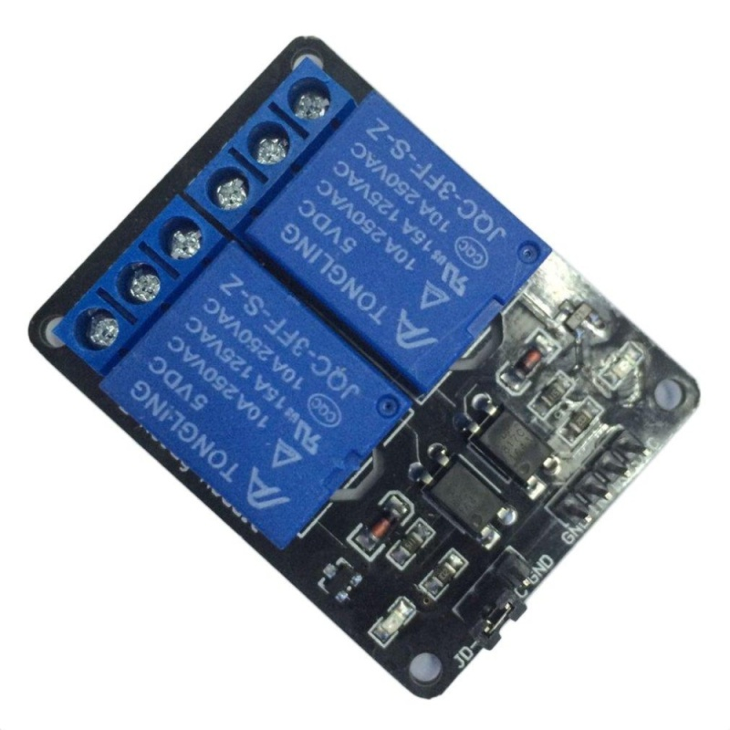 Bảng giá USTORE 5V 2 Channel Relay Module Shield For Arduino ARM PIC AVR DSP MCU Electronic - intl Phong Vũ