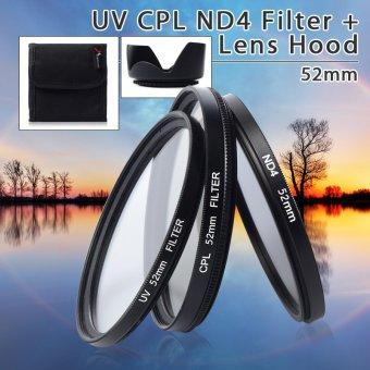 UV CPL ND4 Filter + Lens Hood 52mm For Nikon D3200 D3100 D3000 D90D80 D70 - intl - 10223312 , BR333ELAA586QUVNAMZ-9613959 , 224_BR333ELAA586QUVNAMZ-9613959 , 370000 , UV-CPL-ND4-Filter-Lens-Hood-52mm-For-Nikon-D3200-D3100-D3000-D90D80-D70-intl-224_BR333ELAA586QUVNAMZ-9613959 , lazada.vn , UV CPL ND4 Filter + Lens Hood 52mm For Niko
