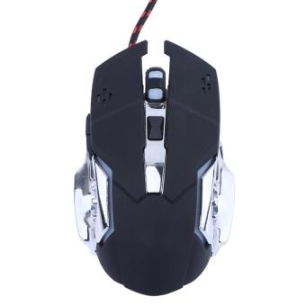 V5 Mechanical Mouse Wired Mechanical Wrangler Mouse - intl