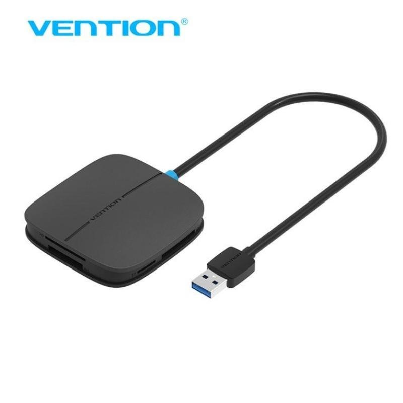 Bảng giá Vention 0.5m USB 3.0 5-in-1 Card Reader Multi Memory SD TF CF MS Smart Card Reader - intl Phong Vũ