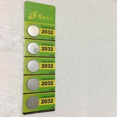 Nơi nào bán Vỉ Pin cúc áo CR2032 Lithium 3V dùng cho các thiết bị điện tử (vỉ 5 viên)