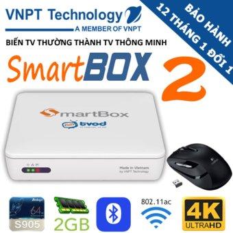 VNPT SmartBox 2 Ram 2GB + Tặng chuột 180k