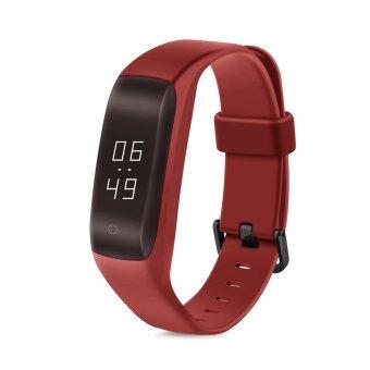 Vòng đeo tay thông minh Lenovo HW01 cho Android, iOS (Đỏ) - quốc tế