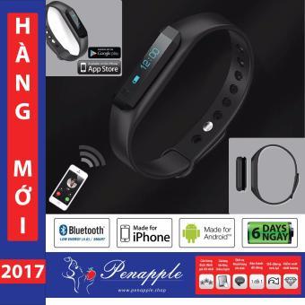 Vòng tay đa năng Fitness Band Bluetooth 4.0 SMART ENERGY cho ANDROID và iOS - Vòng theo dõi sức khỏe Đồng hồ đeo tay đa năng thông minh đếm bước chân đo calo tiêu thụ