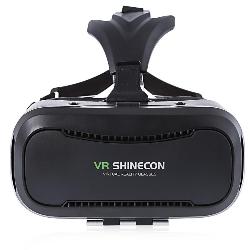 Hình ảnh VR SHINECON II 3D Virtual Reality Head-Mounted Video VR Glasses for 4.7 - 6.2 inch Smartphones - intl