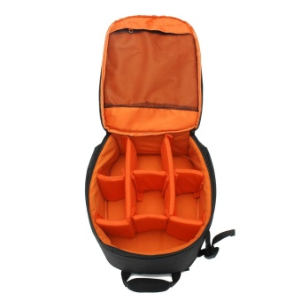 waterproof Camera Backpack Shoulder Bag orange - intl