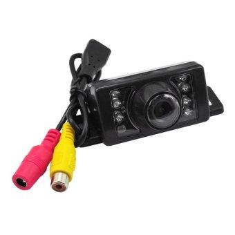 wofalo Supercart Night Vision Car Rear View Reverse BackupWaterproof Camera (Black) - intl
