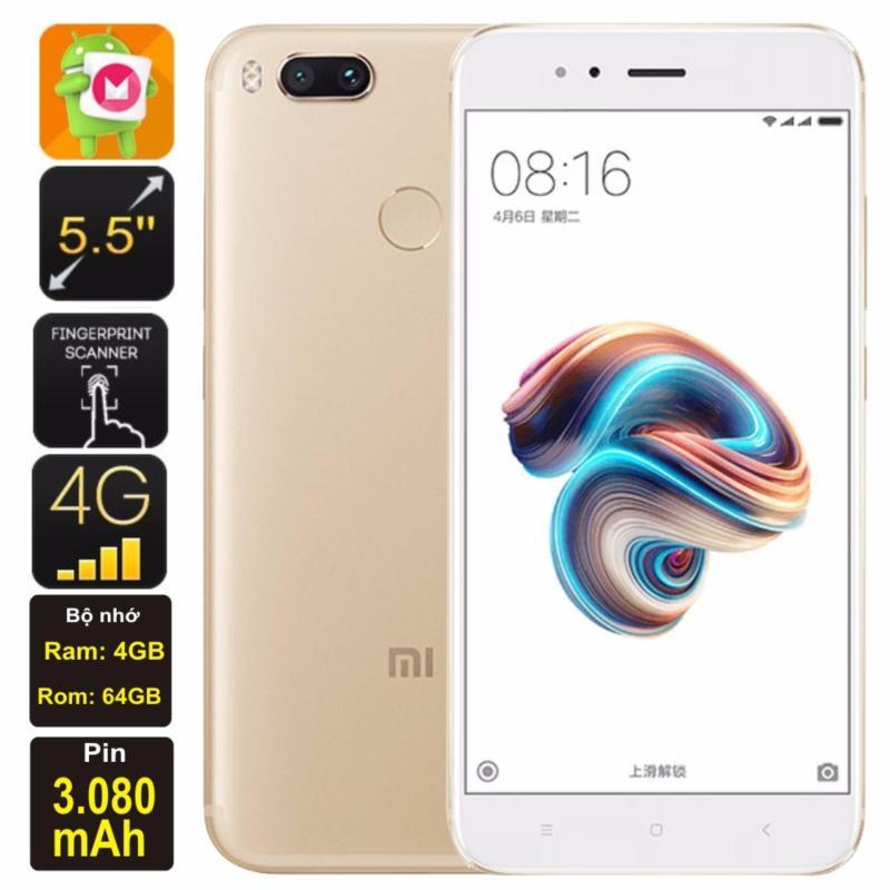 Xiaomi Mi 5X 2017 64GB Ram 4GB Kim Nhung (Vàng) - Hàng nhập khẩu