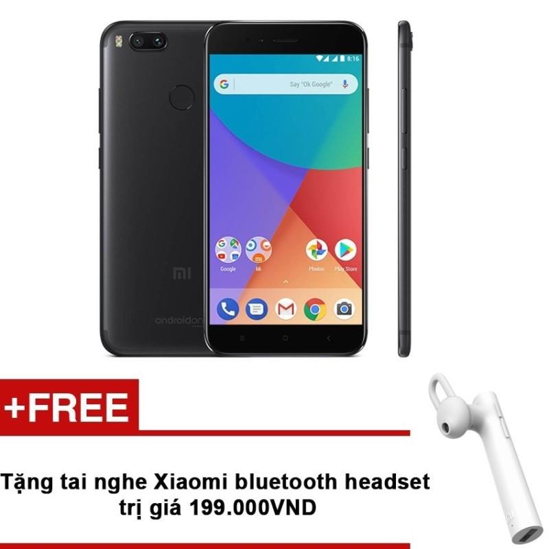 Xiaomi Mi A1 32GB  RAM 4GB Duo Camera (Đen) + Tặng tai nghe Xiaomi bluetooth headset trị giá 199.000 VNĐ - Hãng phân phối chính thức