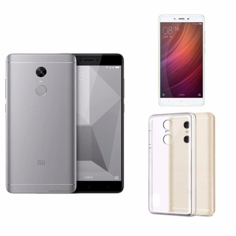 Xiaomi Note 4X Ram 3GB Rom 16GB (Đen xám ) + Ốp Lưng + Kính Cường Lực - Hàng nhập khẩu