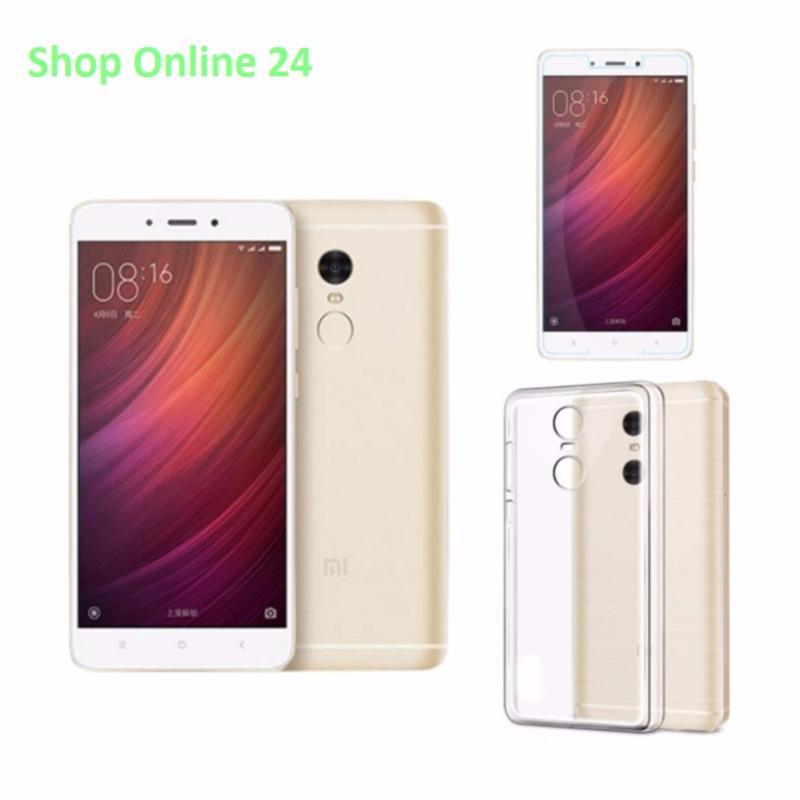 Xiaomi Note 4X Ram 3GB Rom 16GB (Vàng) + Ốp Lưng + Kính Cường Lực - Hàng nhập khẩu