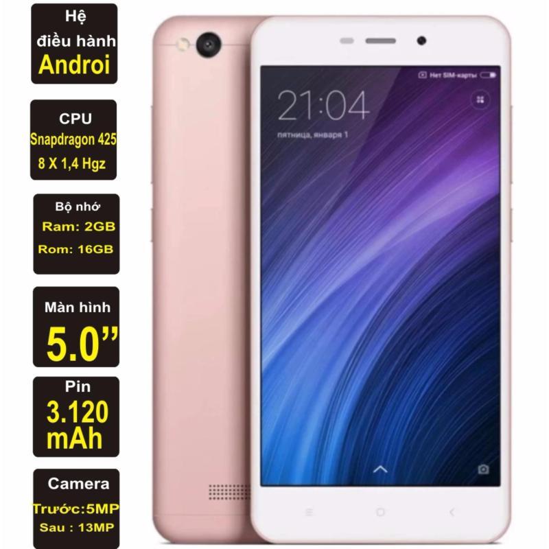 Xiaomi Redmi 4A 16GB Ram 2GB Kim Nhung (Hồng) - Hàng nhập khẩu