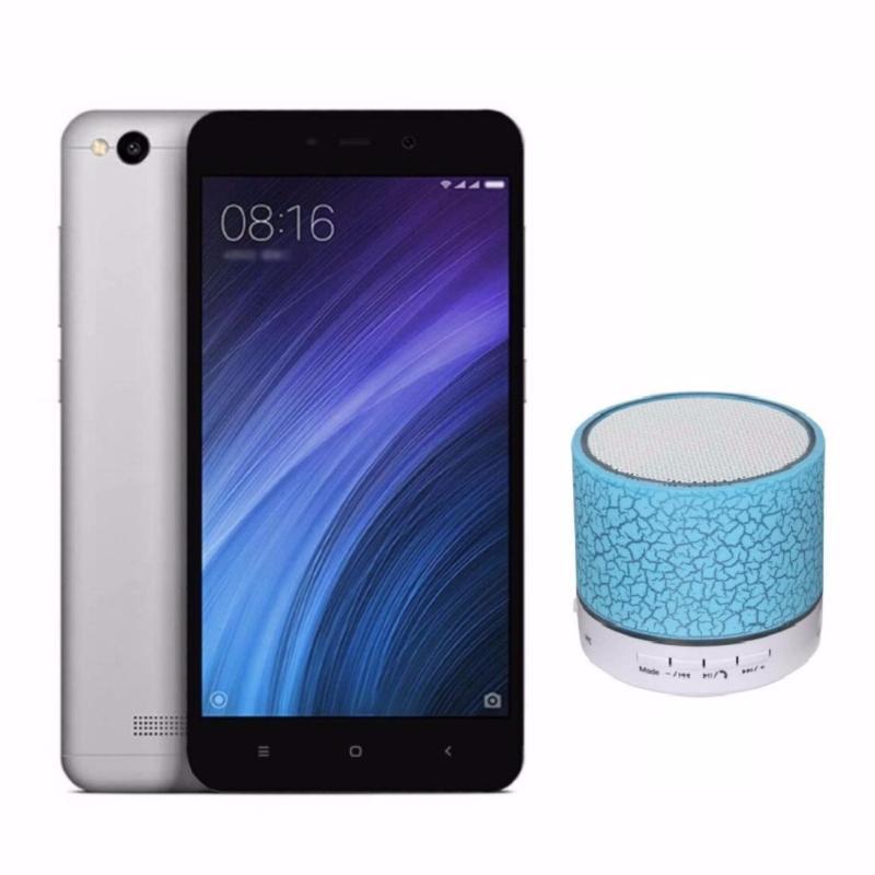Xiaomi Redmi 4a 16GB (Xám) + Loa Bluetooth - Hàng Nhập Khẩu