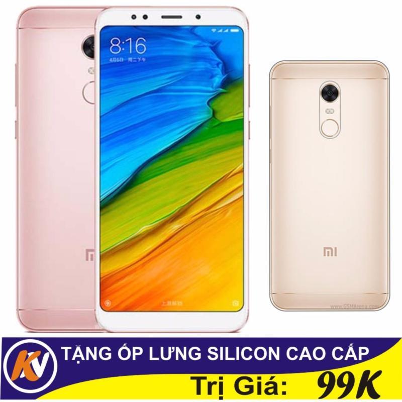 Xiaomi Redmi 5 Plus 32GB Ram 3GB Kim Nhung (Hồng) - Hàng nhập khẩu + Ốp lưng silicon