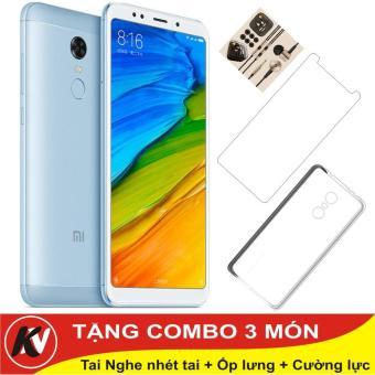 Xiaomi Redmi 5 Plus -32GB Ram 3GB ( Xanh ) - Hàng nhập khẩu + Ốp lưng + Cường lực...