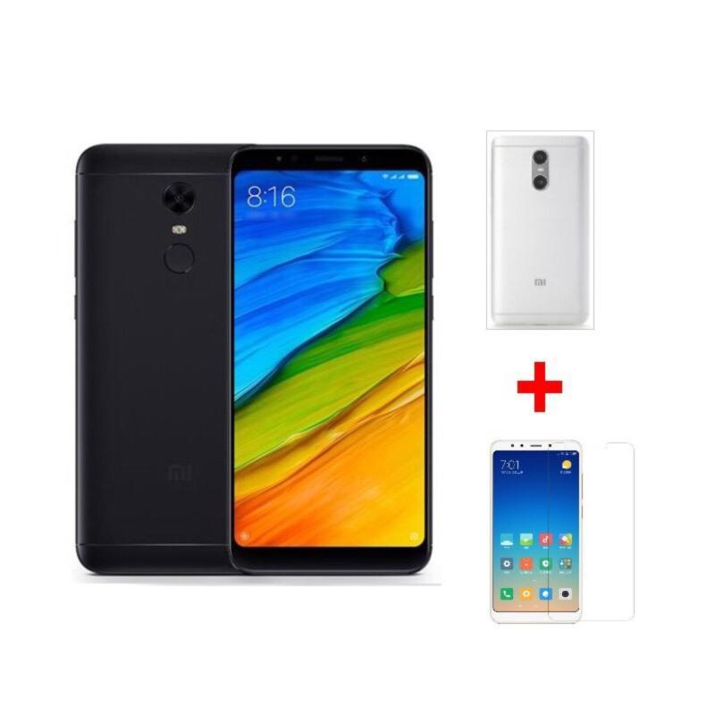Xiaomi Redmi 5 Plus 64G Ram 4G (Đen) + Ốp lưng + Cường lực - Hàng nhập khẩu