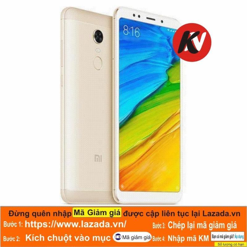 Xiaomi Redmi 5 Plus 64GB Ram 4GB Kim Nhung (Vàng) - Hàng nhập khẩu