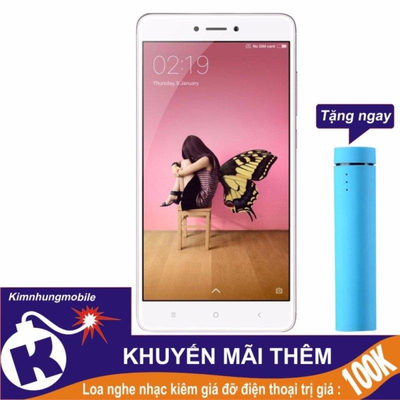 Xiaomi Redmi Note 4x 32gb 3gb Ram (Hồng) - Hàng nhập khẩu + Loa nghe nhạc kiêm giá đỡ điện thoại
