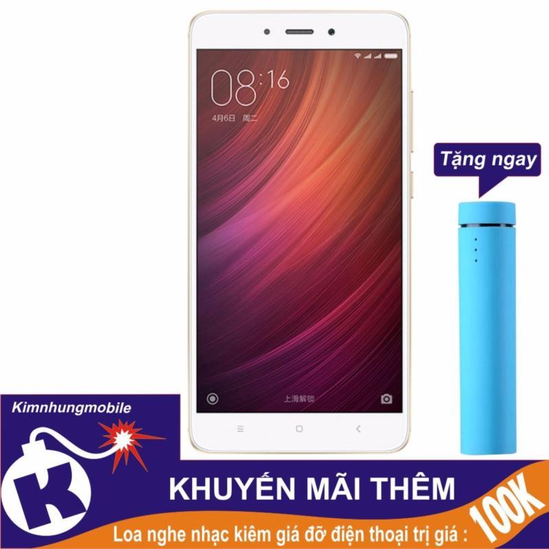 Xiaomi Redmi Note 4x 32gb 3gb Ram (Vàng) - Hàng nhập khẩu + Loa nghe nhạc kiêm giá đỡ điện thoại