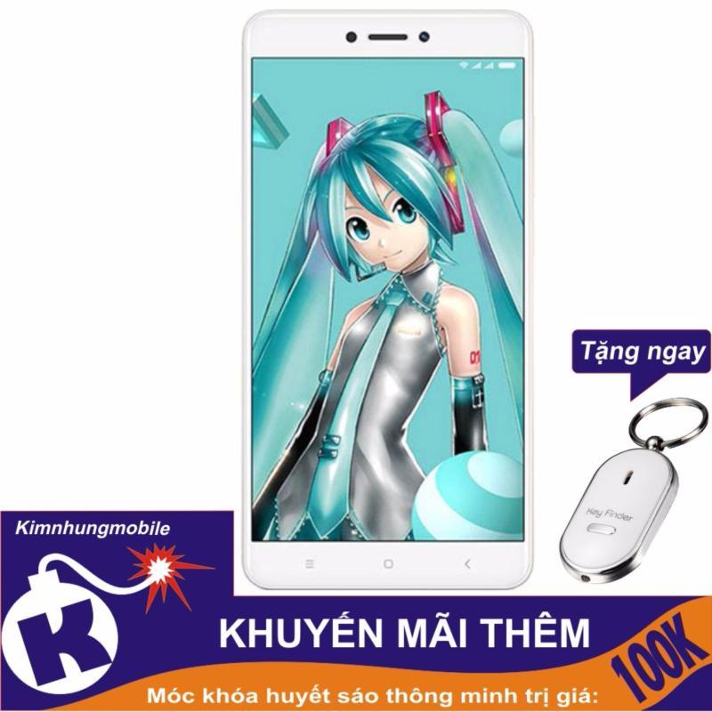 Xiaomi Redmi Note 4X 32GB (Xanh Ngọc) Kim Nhung - Hàng nhập khẩu + Móc khóa huýt sáo thông minh