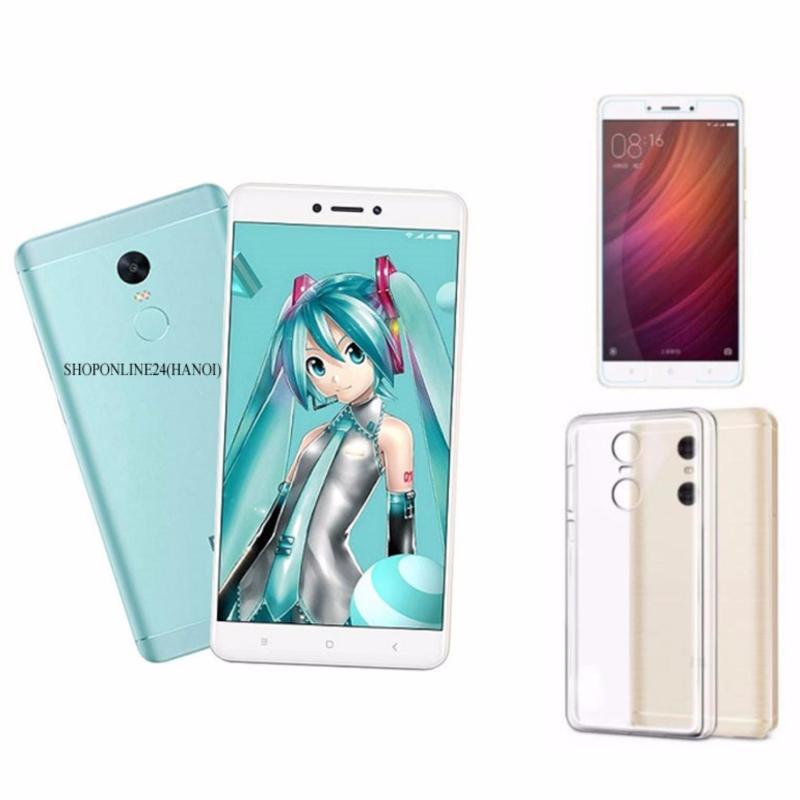 Xiaomi Redmi Note 4X 32GB (Xanh) + Ốp Lưng + kính cường lực - Hàng nhập khẩu