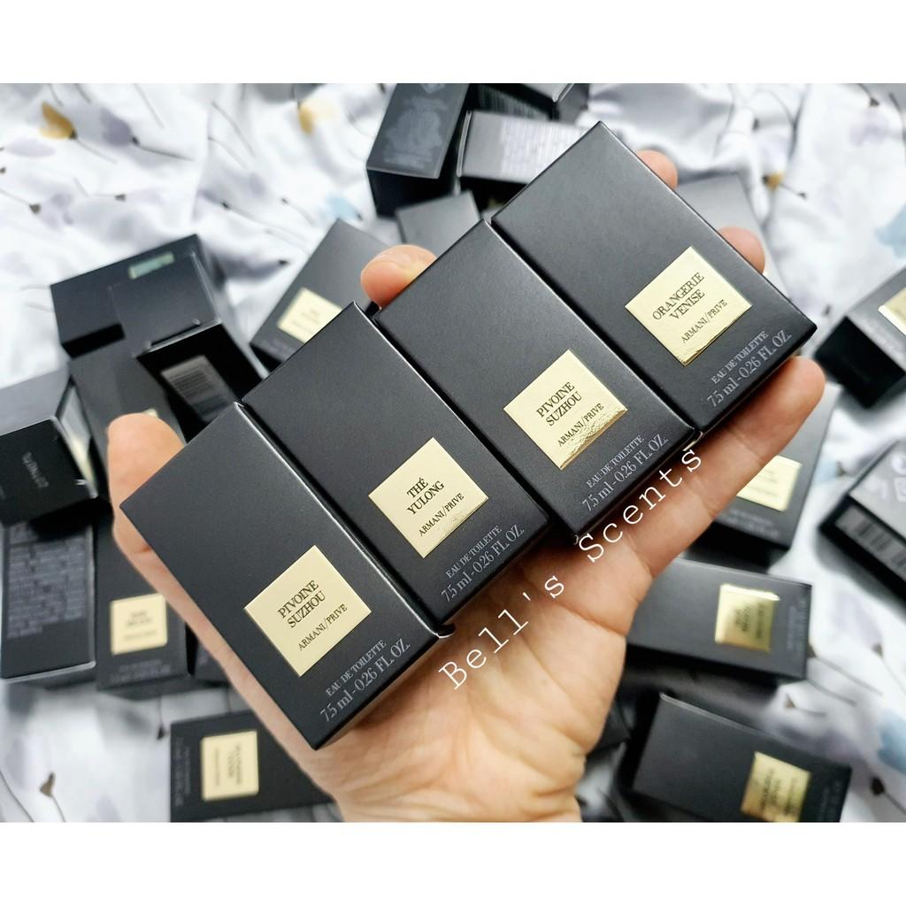 Nước hoa Armani dòng Prive Collection mini 7.5ml có hộp chính hãng