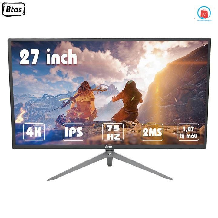 [Trả góp 0%]Màn hình 27 inch 4K ATAS HD280U - Tấm nền IPS - Màn hình Gaming