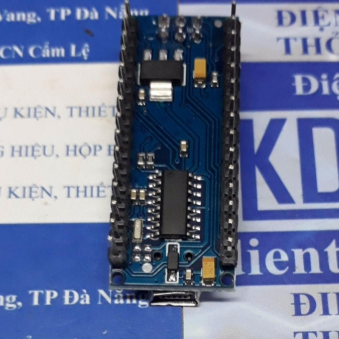 Kit thực hành, Kit phát triển, Kit thí nghiệm Arduino NANO V3.0 AVR ATMEGA328P, SMD CH340 + cáp kde4696