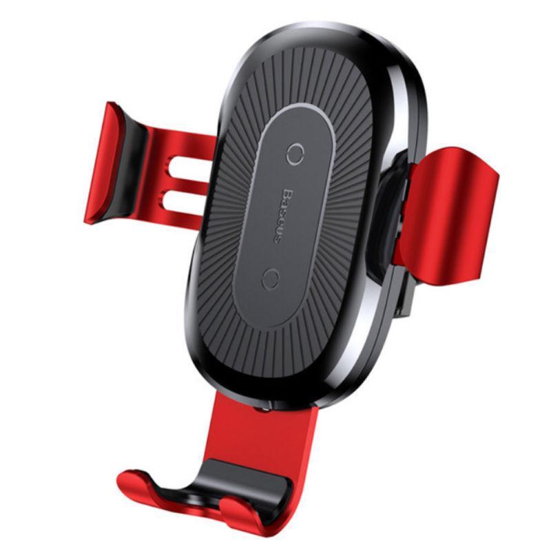 Đế sạc không dây (Wireless) trên oto, xe hơi nổi tiếng Baseus (Chuẩn QI) Sạc nhanh (Ngàm Kẹp)