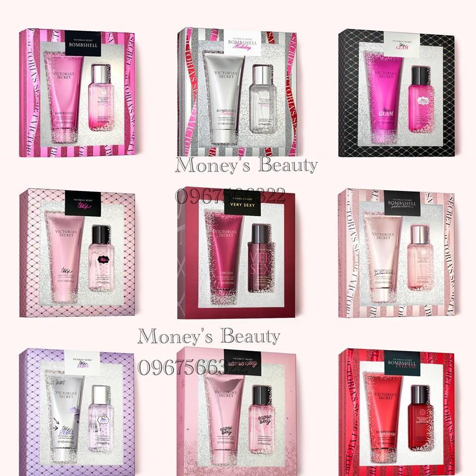 Bộ xịt toàn thân Victoria's Secret Very Sexy Mist & Lotion Gift Set