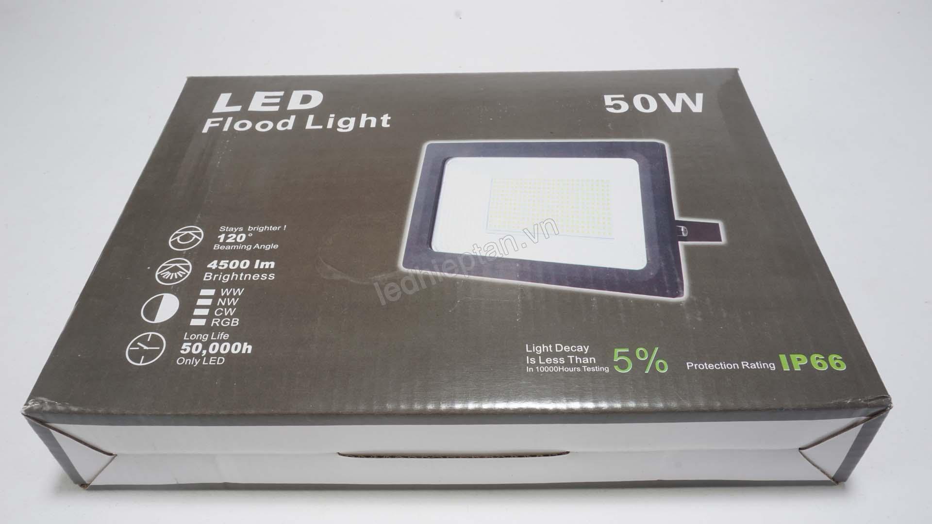 Đèn pha trắng 50W