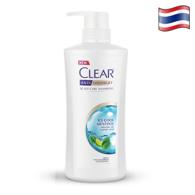 DẦU GỘI ĐẦU CLEAR BẠC HÀ THÁI LAN - 480ml/chai