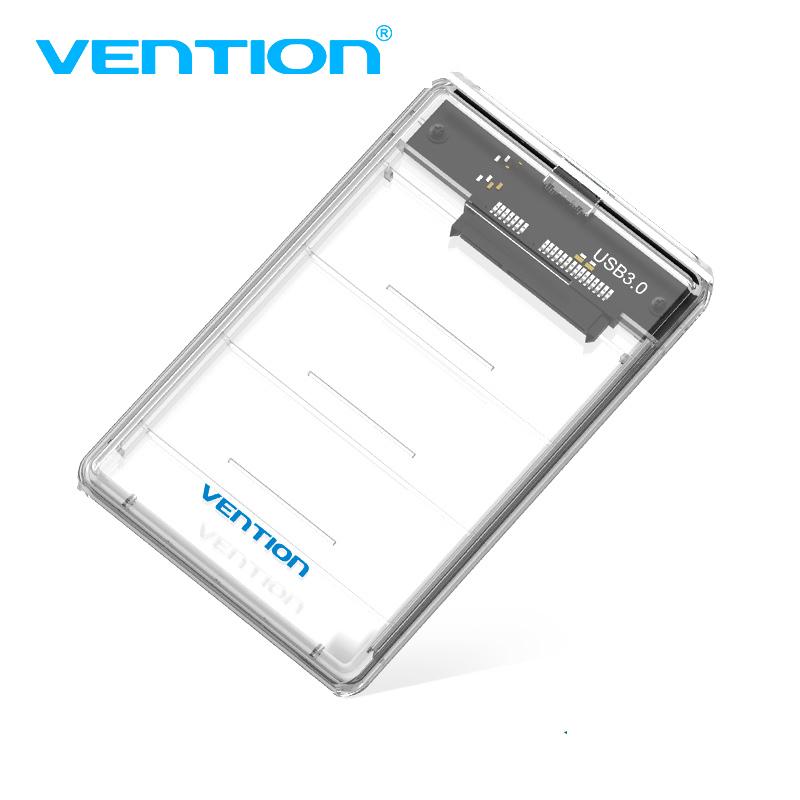 Hộp đựng ổ cứng gắn ngoài, Box ổ cứng 2.5 inch, Cổng kết nối USB 3.0 vỏ nhựa ABS trong cao cấp (dây rời) VENTION KDHW0