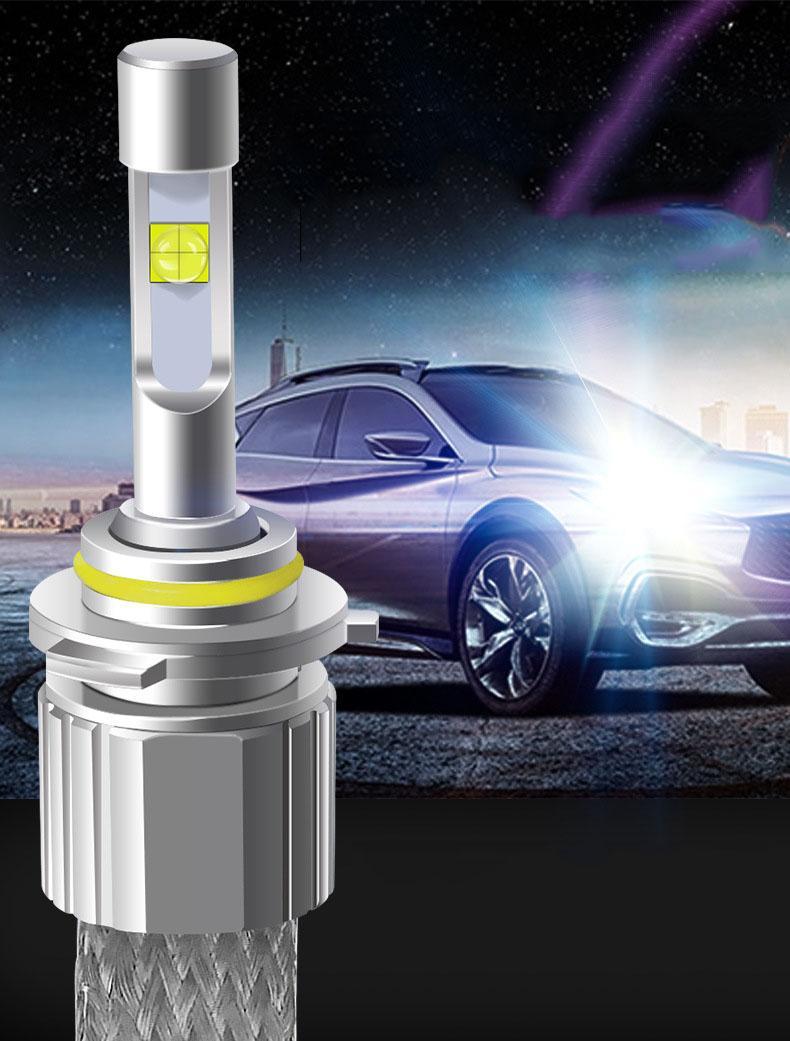 Bóng đèn pha ô tô siêu sáng - sử dụng chip led Cree USA tăng sáng 200% - không gấy chói mắt xe ngược chiều - độ gom sáng bám đường tốt - điều chỉnh được tiêu cự - tự lắp đặt ở nhà - tiết kiệm điện đăng - sản phẩm bảo hành 1 đổi 1 18 tháng