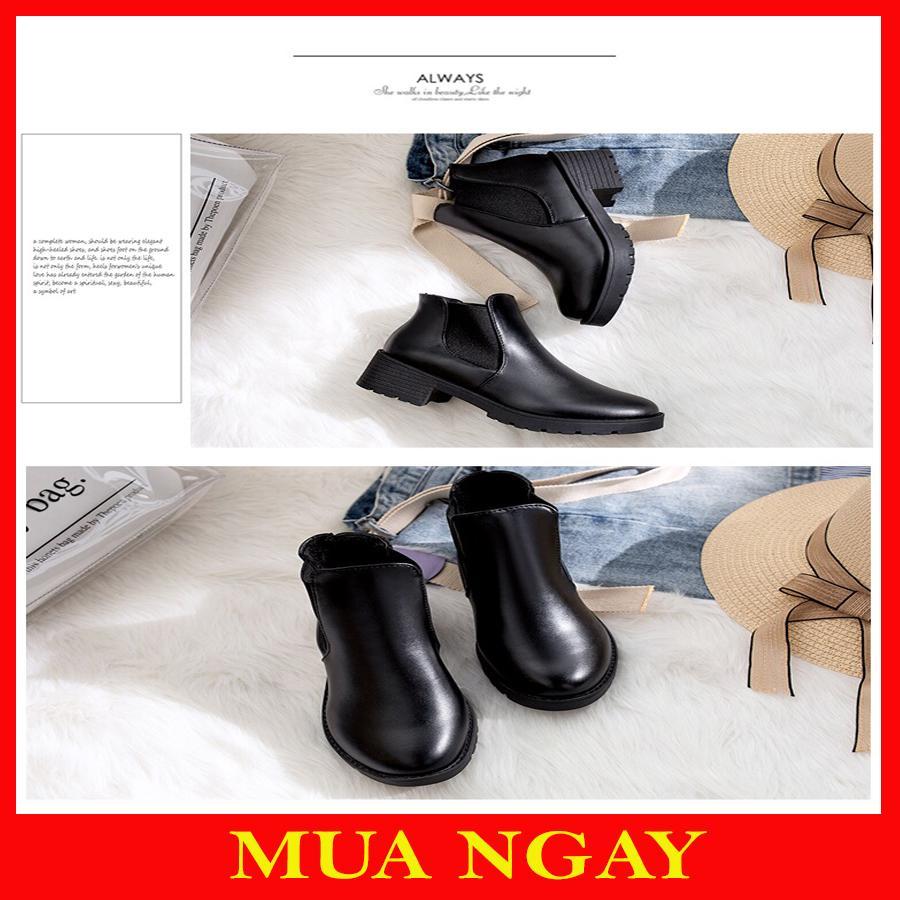 Boot Nữ Cổ Chun Hot Trend BT1