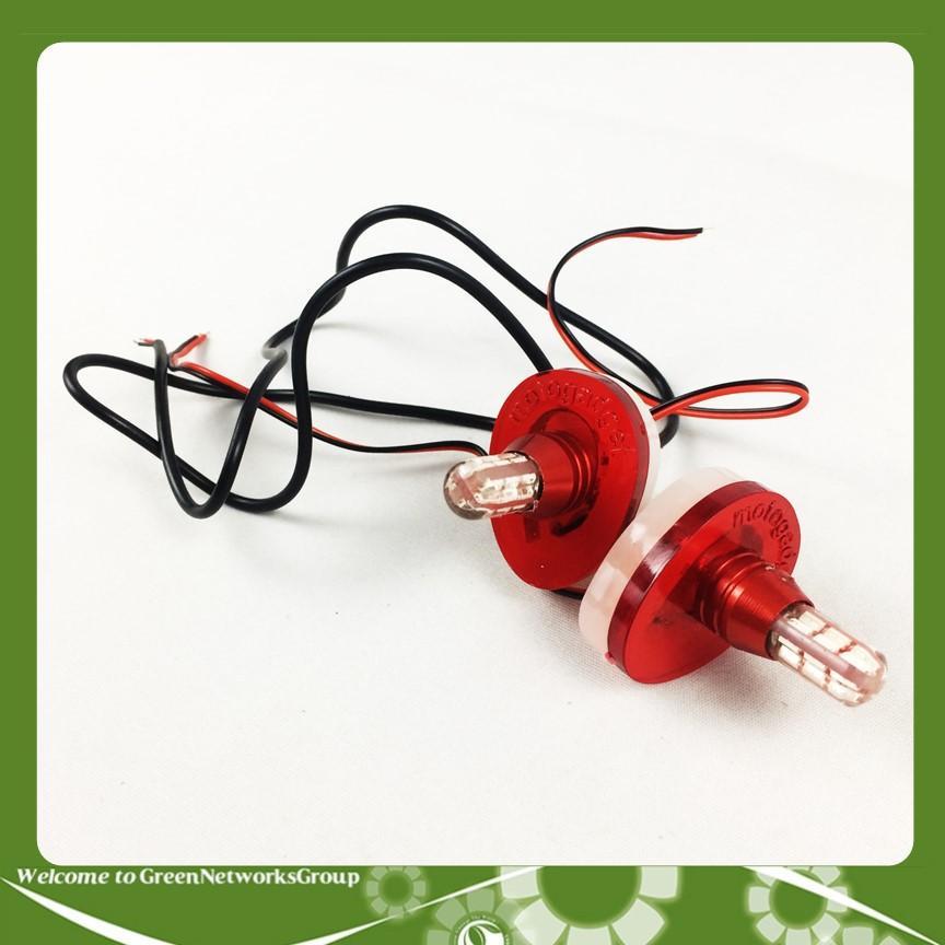 Đèn xi nhan 24 bóng dành cho xe Exciter 150 màu đỏ Greennetworks