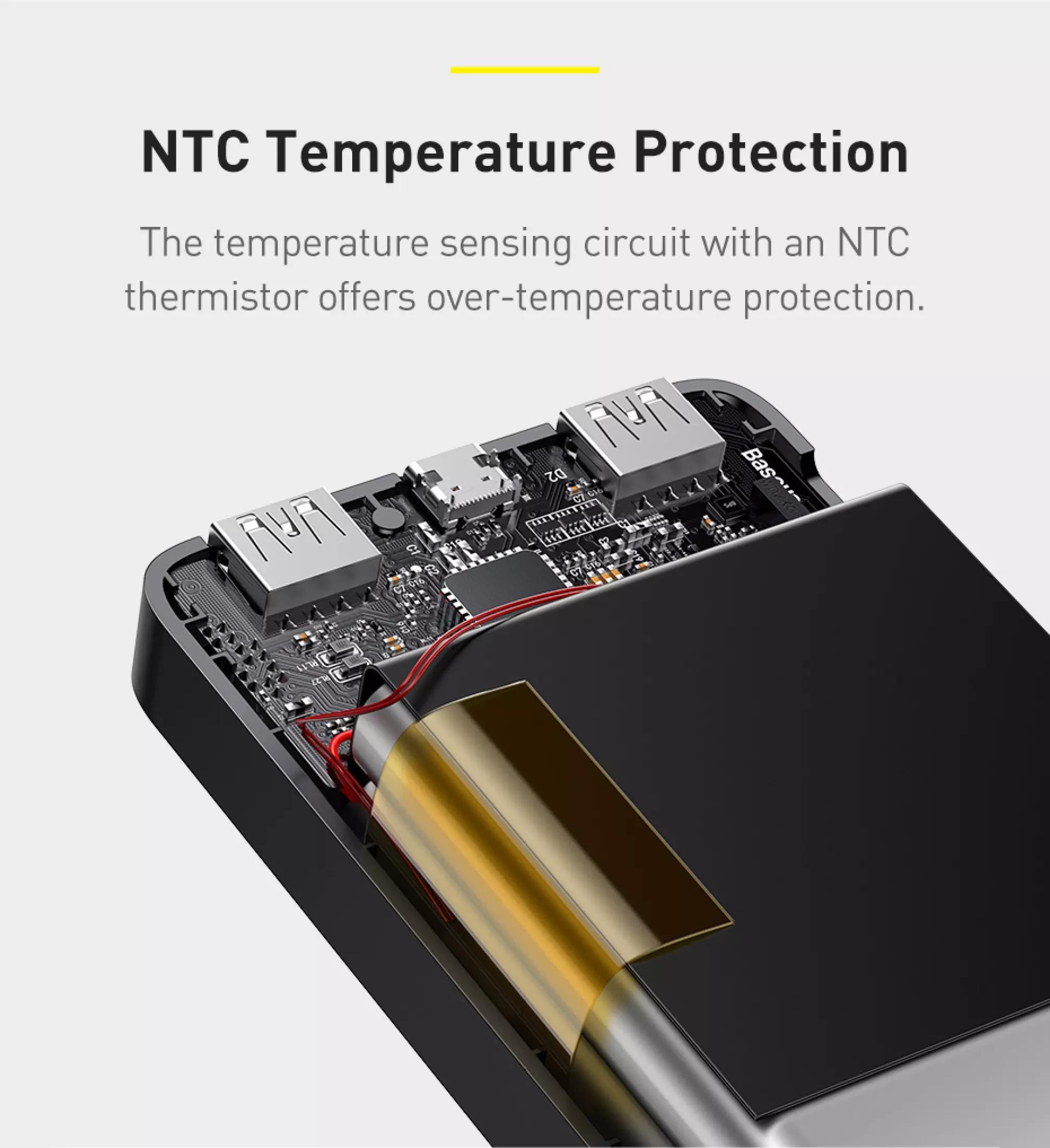 Pin sạc dự phòng Baseus dung lượng 10000mAh công suất 15W hoặc 20W, màn hình LED hiển thị, sạc nhanh QC, PD cho iPhone, Samsung, Xiaomi,....-Phân phối chính hãng tại Baseus Việt Nam 6