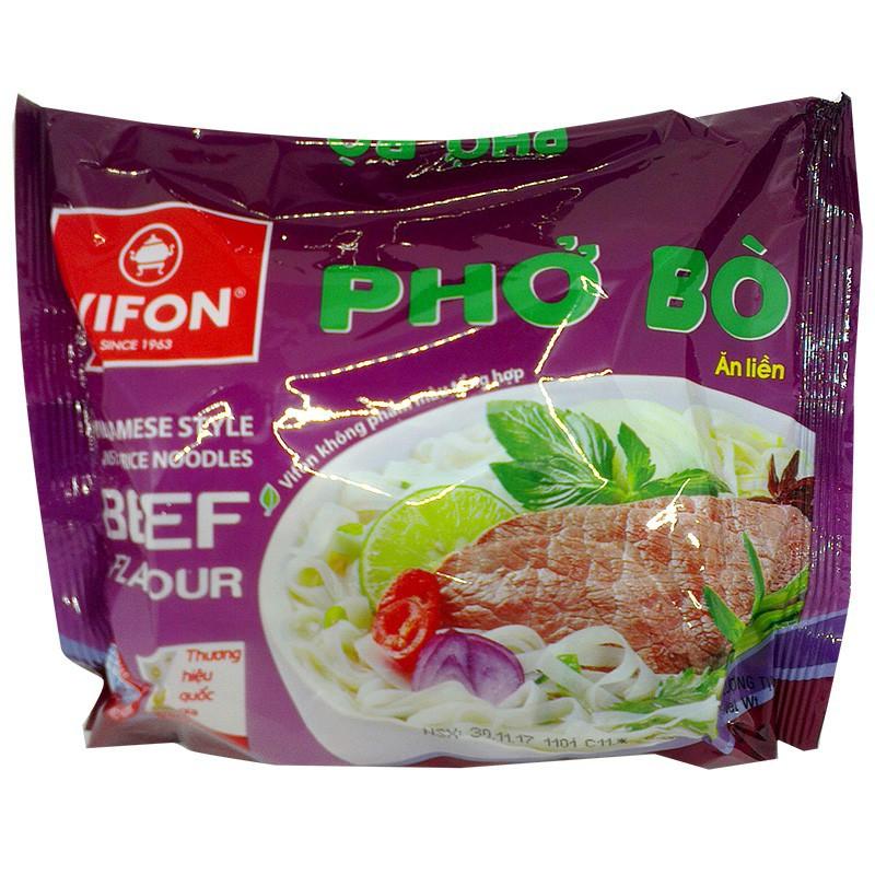 PHỞ BÒ/ GÀ VIFON 65G