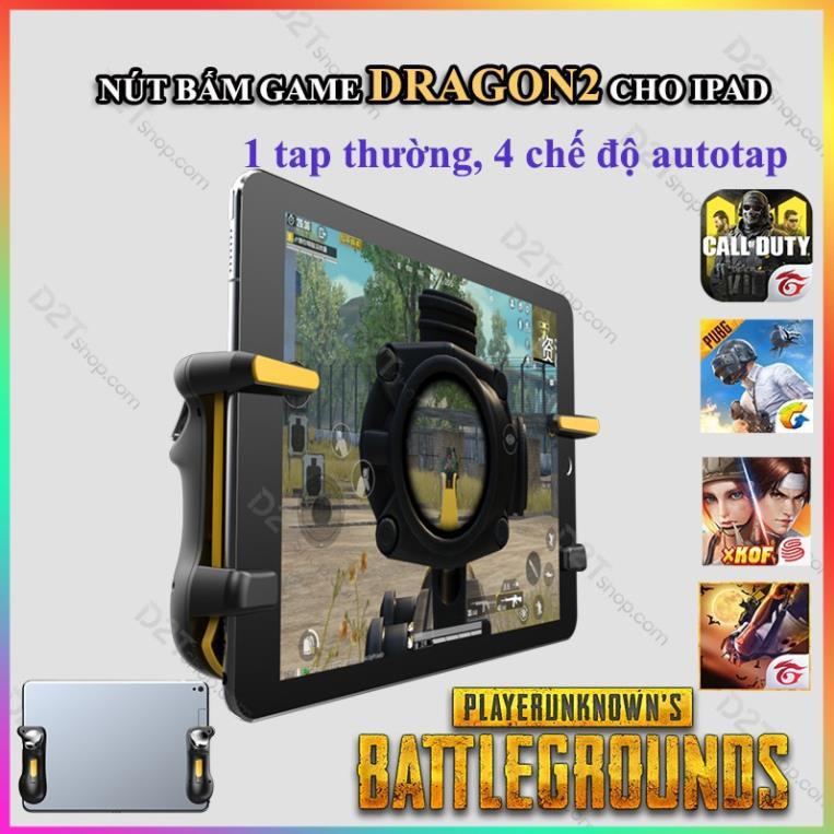 Nút bấm game Dragon 2 cho iPad tự động autotap 30 lần giây cực khủng chơi game PUBG Call of Duty Free Fire 1