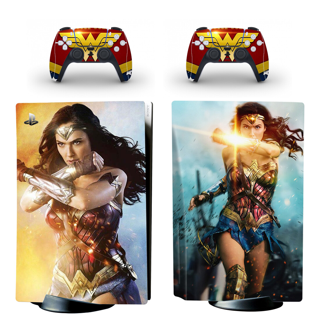 New Film PS5 Standard Disc Edition Skin Sticker Decal Cover for PlayStation 5 Console & Controller PS5 Skin Sticker Vinyl