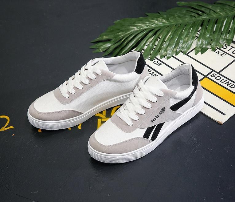 [ GIÁ HỦY DIỆT ] Giày Thể Thao Giày Da Lộn 2019 Nam G13 ( TRẮNG ) - Giày thể thao/Giày nam phong cách Korea, dễ kết hợp, mẫu mới nhất ( NEW ARRIVAL ) - MANTO SIMPLE LUXURY