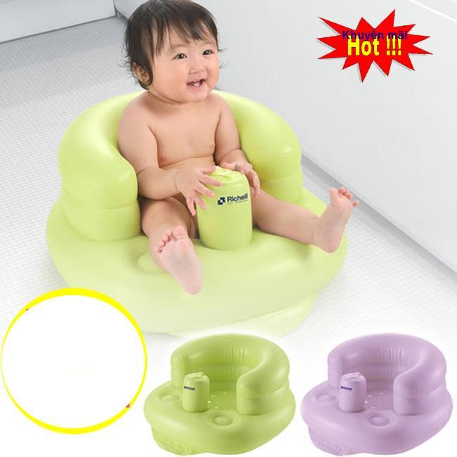 Ghế Hơi Tập Ngồi, Ghế tập ngồi cho bé giúp bé ngồi vững tạo cảm giác thích thú cho bé yêu. Tặng kèm 1 móc điện thoại thông minh - Giảm giá cực sốc - Mua ngay!!!