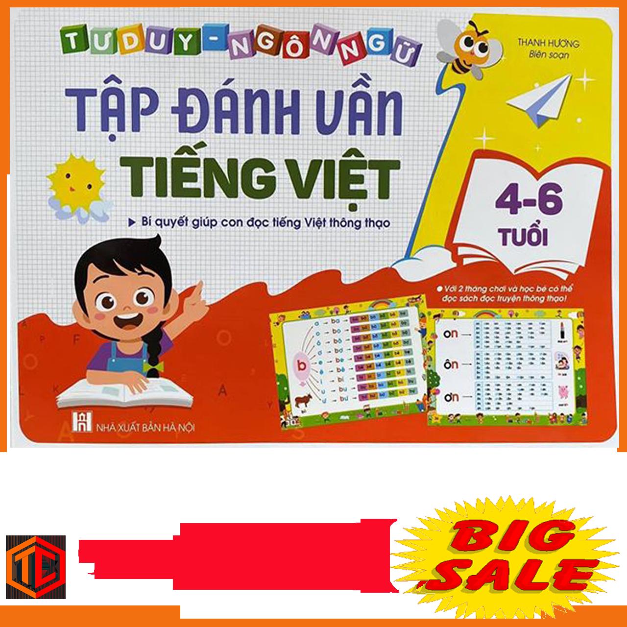 Tập Đánh Vần Tiếng Việt Giúp Bé Biết Ghép Vần Thành Thạo và Làm Quen Chữ Cái Nhanh Chóng, Hiệu Quả
