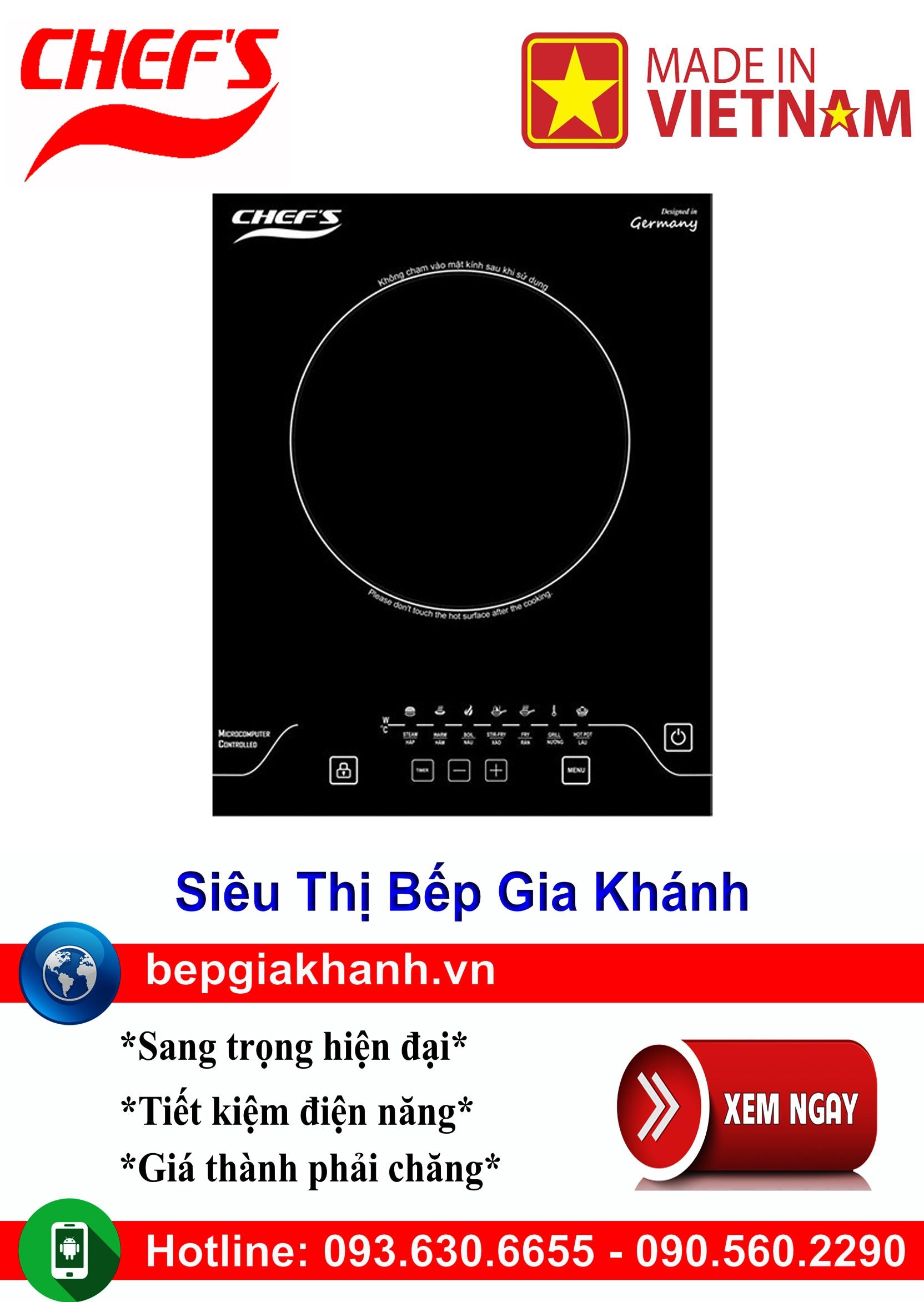 [HCM]Bếp từ đơn Chefs EH IH2000A lắp ráp Việt Nam bếp từ bếp điện từ bếp từ đôi bếp điện từ đôi bếp từ giá rẻ bếp điện từ giá rẻ bếp từ đơn bep tu don bep tu